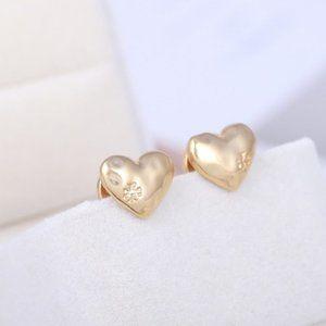 Tory Burch Vintage Fashion Gold Stud Earring